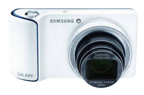 Samsung GC110 White Galaxy Digital Camera