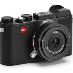 Leica CL Mirrorless Digital Camera with 18mm Lens Black Pack Of 1