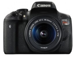 Canon EOS Rebel T6i Digital SLR With EF-S 18-55mm IS STM Lens - Wifi Enabled