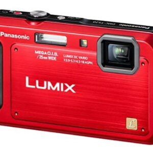 Panasonic Lumix TS20 16.1 MP TOUGH Waterproof Digital Camera With 4x Optical Zoom (Red)
