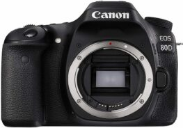 Canon Digital SLR Camera With 24.2 Megapixel CMOS Sensor Black