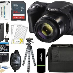 Canon PowerShot SX420 IS Digital Camera Bundle