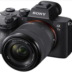 Sony A7 III Full-frame Mirrorless Camera Black With 3-Inch LCD
